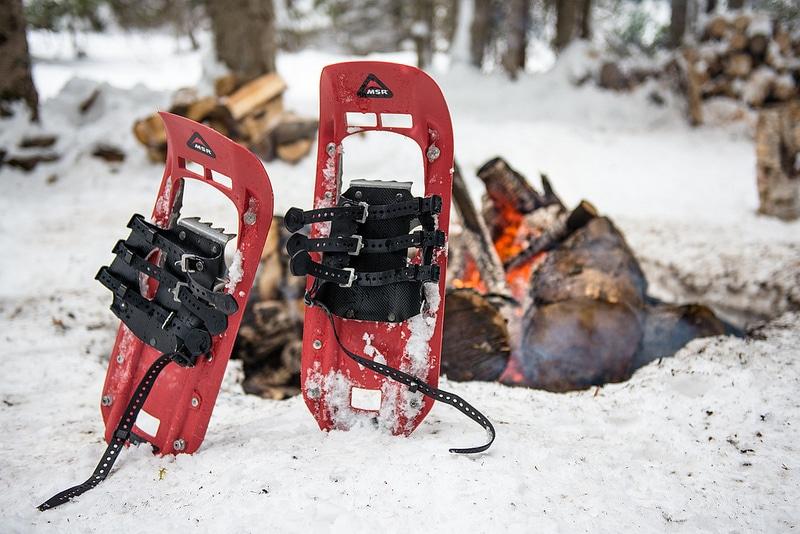 Randonnée en raquettes, Canada en hiver