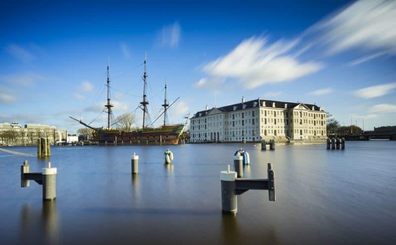 Le musée national maritime d'Amsterdam