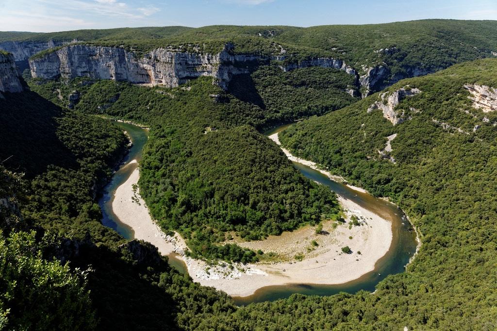 Visiter la France, Gorges de l'Ardèche