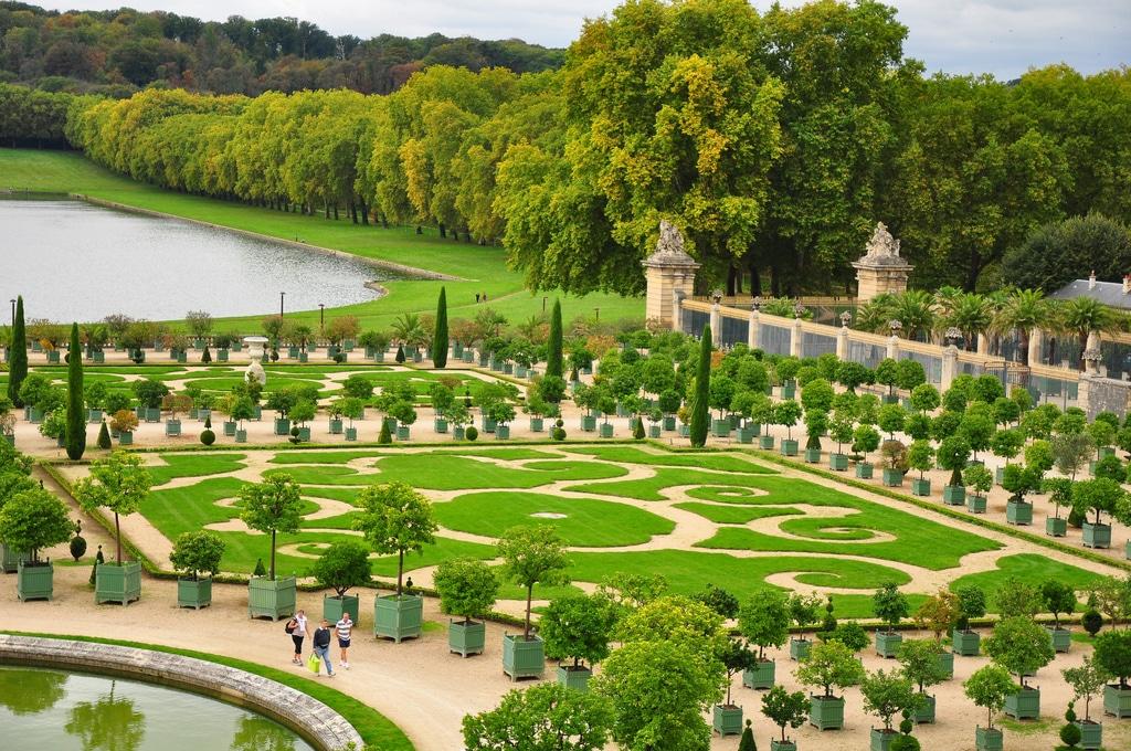 Visiter la France, jardin du château de Versailles