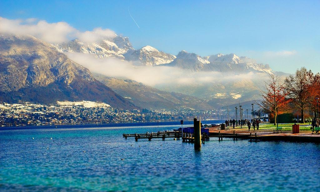 Visiter la France, Lac d'Annecy