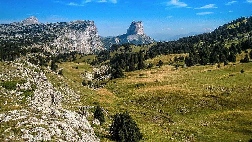 Visiter la France, Mont Aiguille