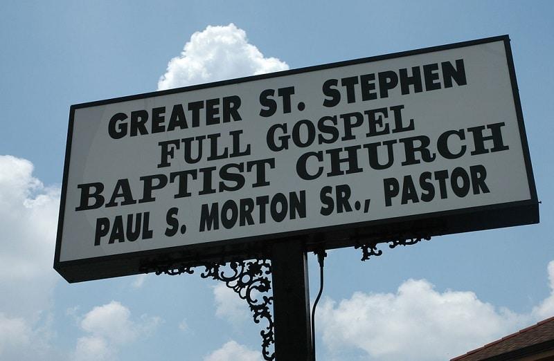 Messe gospel, Nouvelle-Orléans