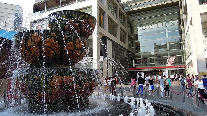 Pavilion Crystal Fountain, Kuala Lumpur