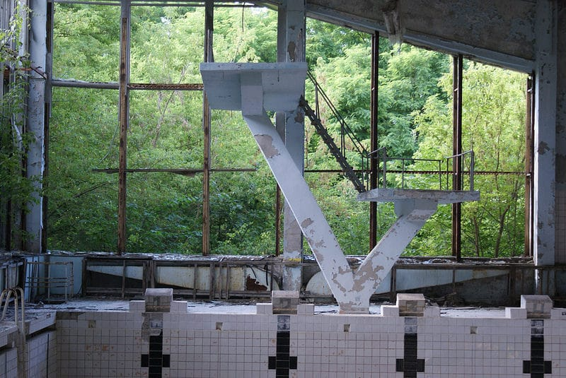 Piscine Tchernobyl