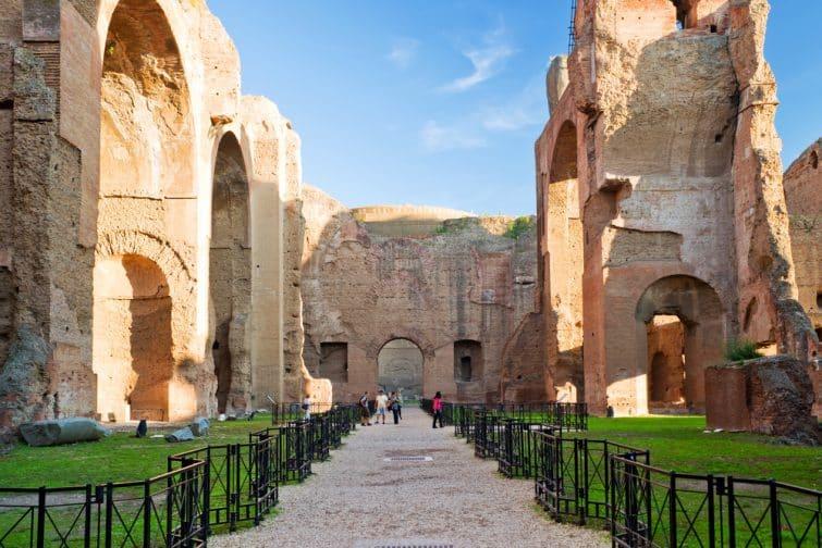 Ruines des thermes de Caracalla, Rome