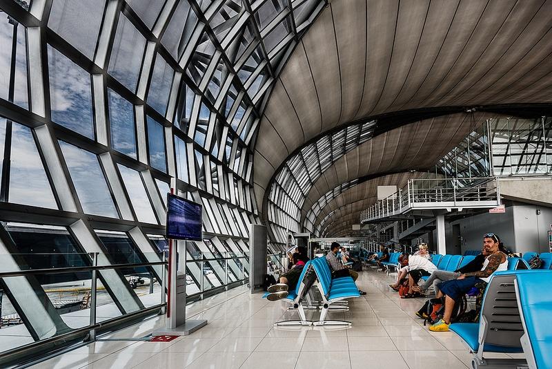 Aéroport de Suvarnabhumi, Bangkok