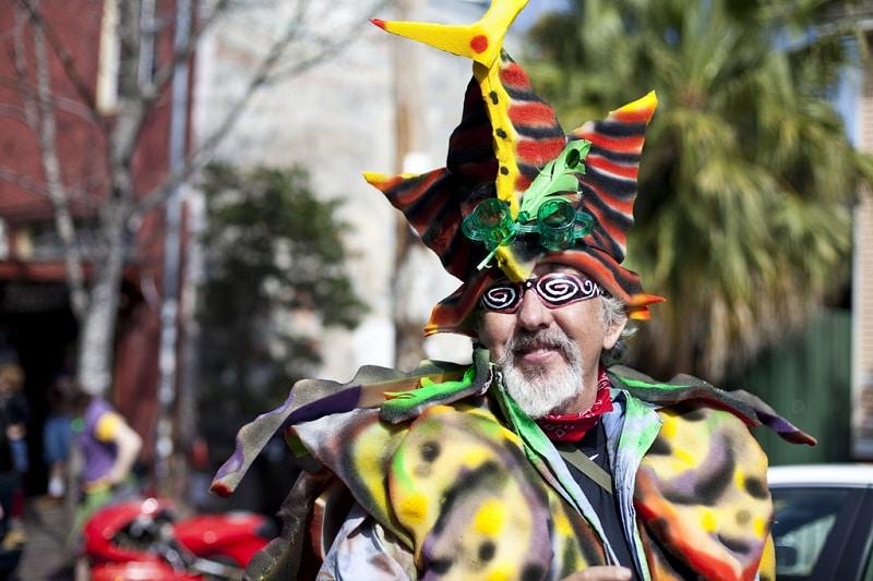 Costume du carnaval de la Nouvelle-Orléans