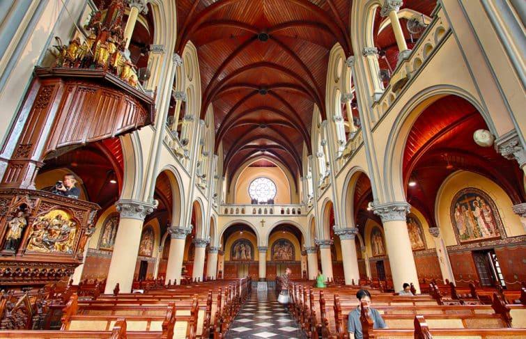Le cathédrale Sainte-Marie de Jakarta