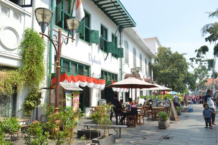 Visiter Jakarta, en commençant par Kota Tua