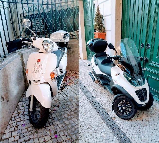 Location de scooter à Lisbonne