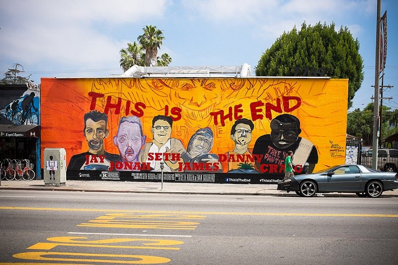 Melrose, Los Angeles, Street Art