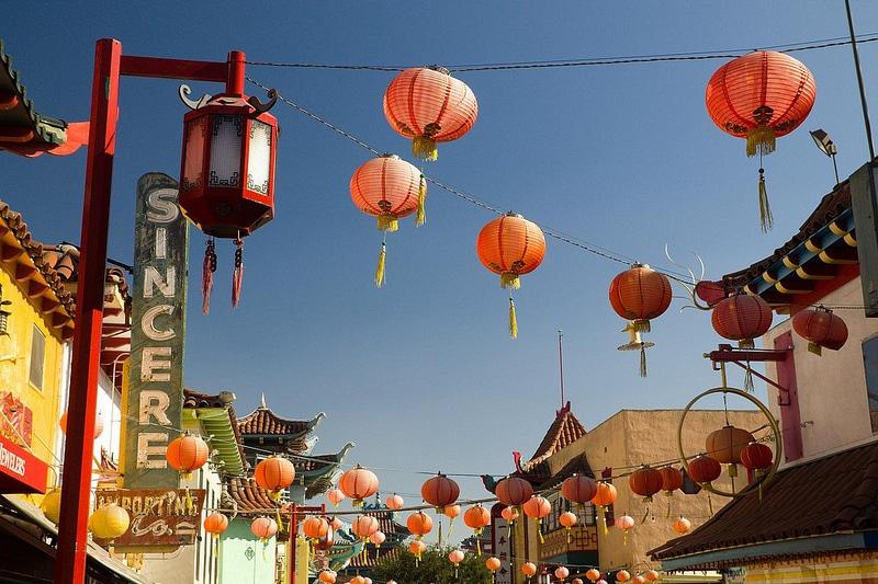 Quartier Chinatown, Los Angeles