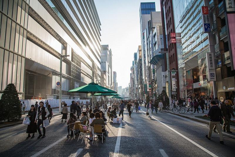 Quartier Ginza pour loger à Tokyo