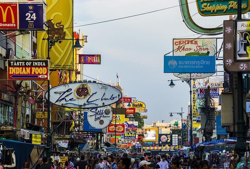 Quartier Khao San Road pour loger à Bangkok