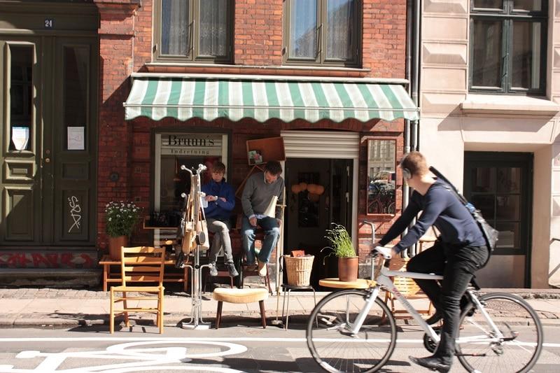 Quartier Nørrebro pour loger à Copenhague