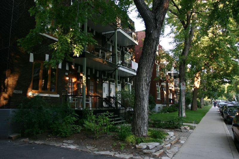 Quartier Outremont, loger à Montréal