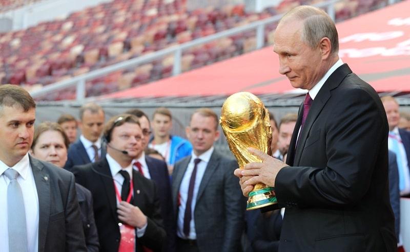 Vladimir Poutine, Coupe du Monde de Football 2018, Russie