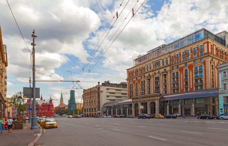 Tverskaya st, Moscou