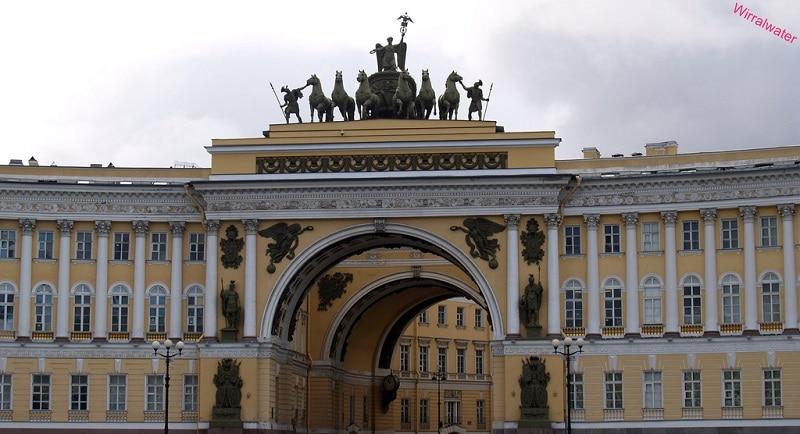 Amirauté, loger à Saint-Pétersbourg