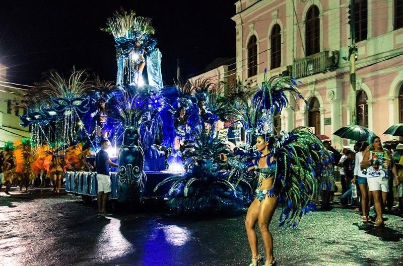 Carnaval de Rio dans la rue