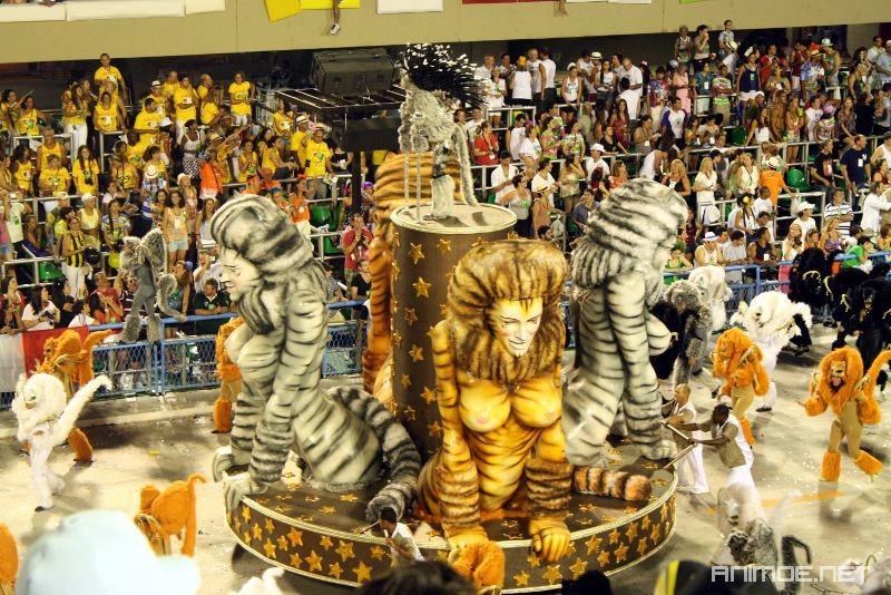 Carnaval de Rio au Sambodrome