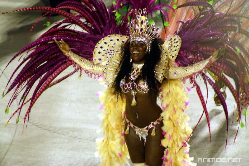 Danseuse au Carnaval de Rio de Janeiro