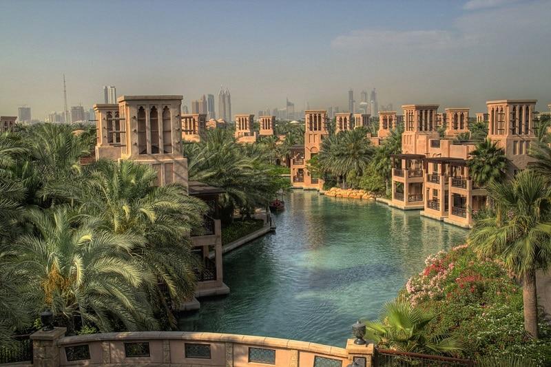 Jumeirah, loger à Dubai