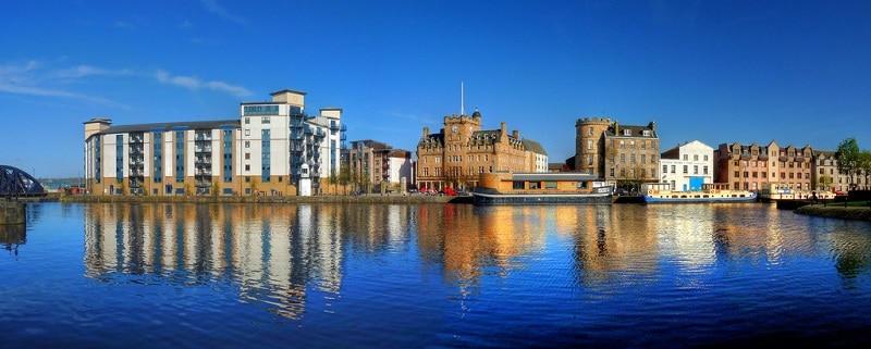Leith, loger à Edimbourg