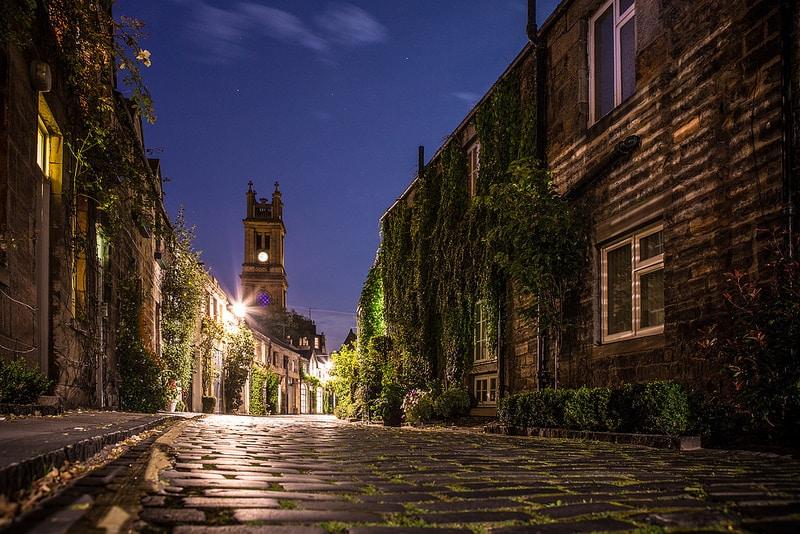 New Town, loger à Édimbourg