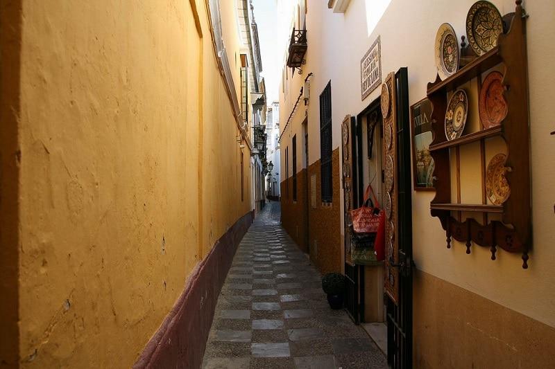 Santa Cruz, loger à Séville