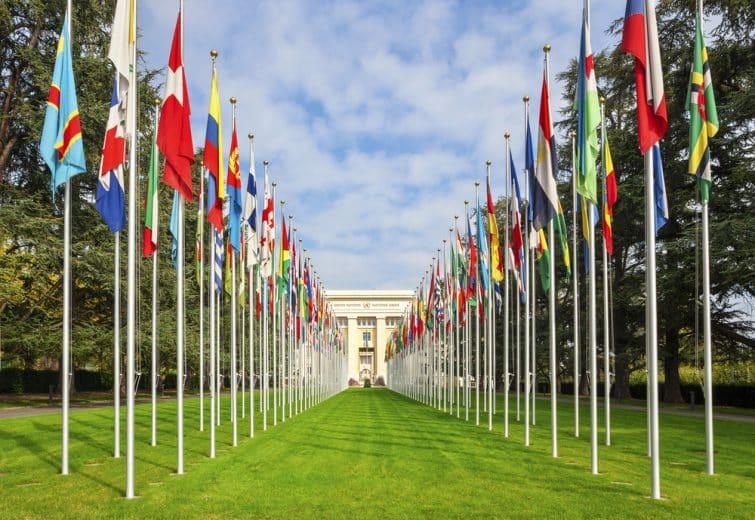 Le Palais des Nations