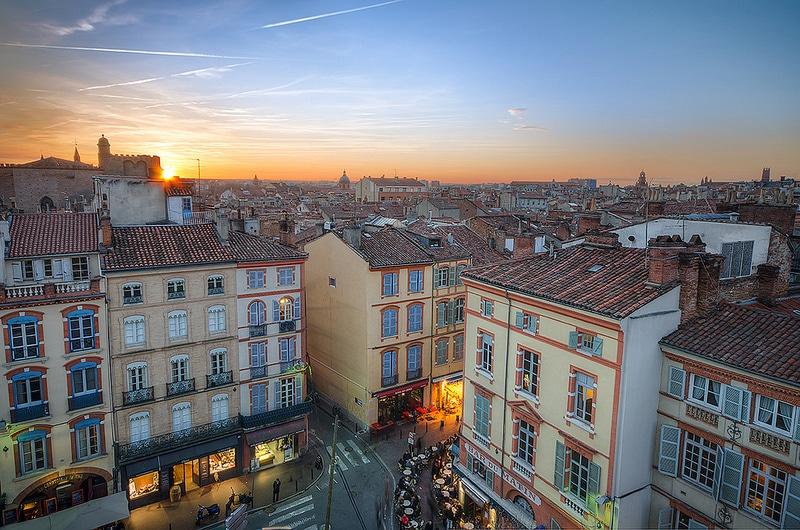 Les Carmes, loger à Toulouse