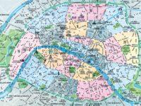 Carte & plan de Paris