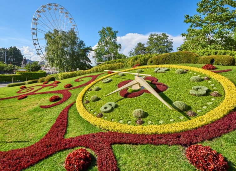 L'Horloge fleurie Genève