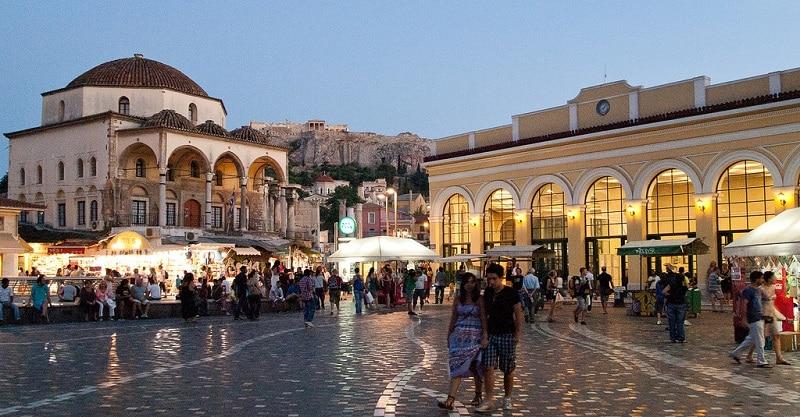 Loger dans le centre d'Athènes