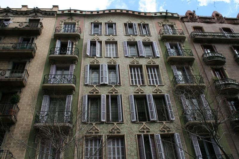 Loger à Eixample, Valence