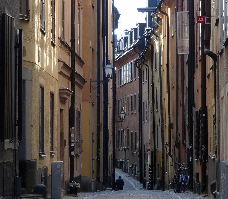Loger à Gamla Stan, Stockholm