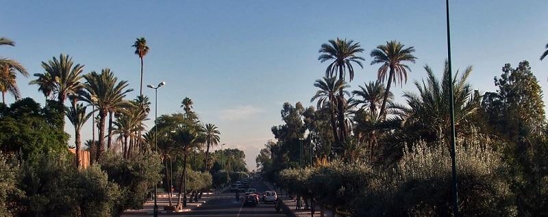 Loger à Guéliz, Marrakech