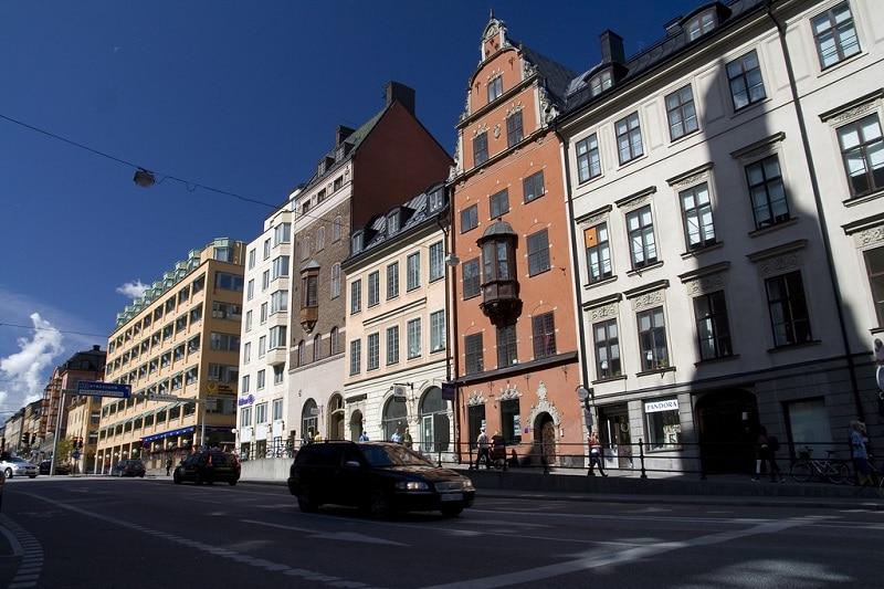 Loger à Södermalm, Stockholm
