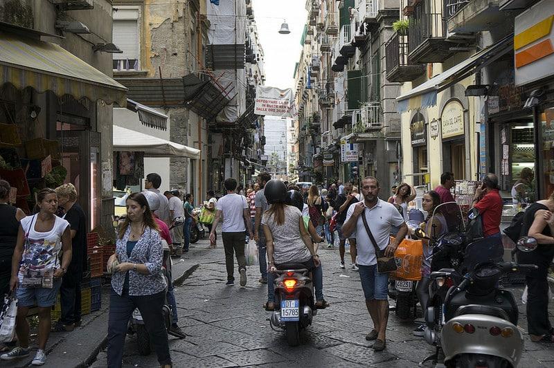 Loger à Spaccanapoli, le centre historique de Naples