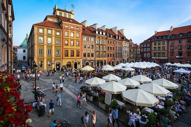 Bon Plan: Partez une semaine à Varsovie Vol+Activité à seulement 197€ par personne !