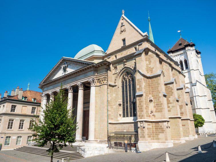 cathédrale saint pierre geneve