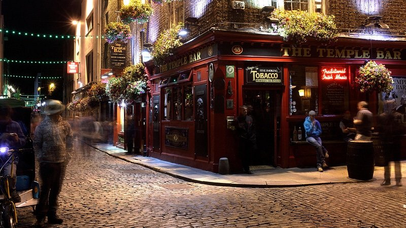 Temple Bar, loger à Dublin