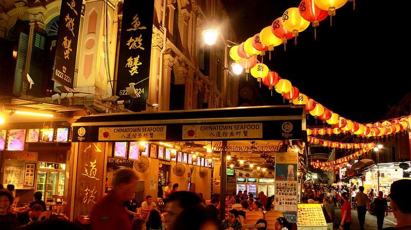 China Town, loger à Singapour