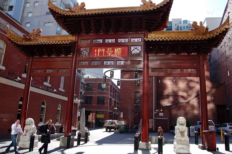Chinatown, loger à Melbourne