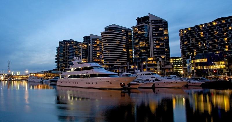Docklands, loger Melbourne