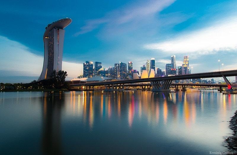 Marina Bay, loger à Singapour