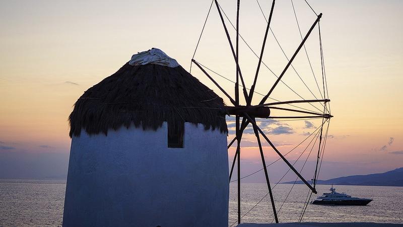 Moulins à vent de Mykonos