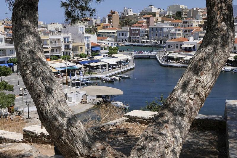 Agios Nikolaos, loger en Crète